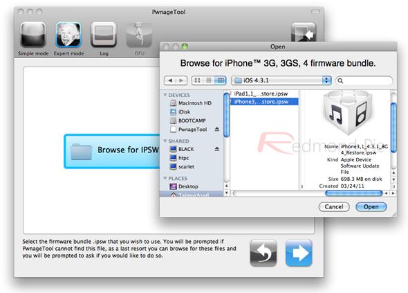 iPhone 4 4.3.1