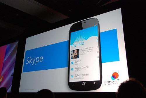 Skype for WP7