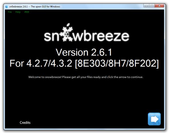 Sn0wbreeze 2.6.1
