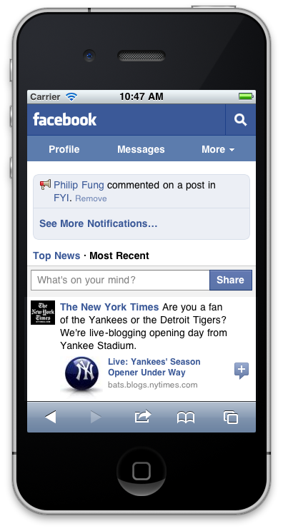 Facebook for Mobile - Free download and software reviews ...
