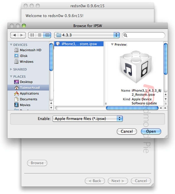 Jailbreak iOS 4.3.3 (2)