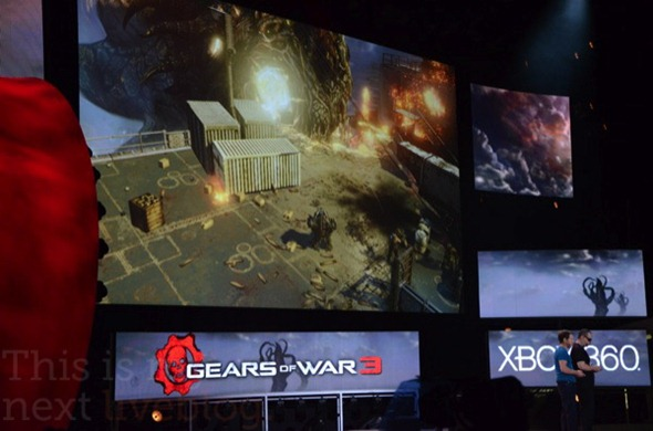 xbox microsoft e3 2011 announcements modern warfare 3 halo 4 kinect mass effect