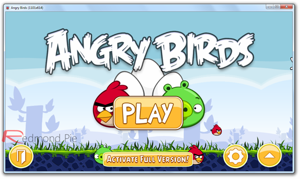 Angry Birds for Windows