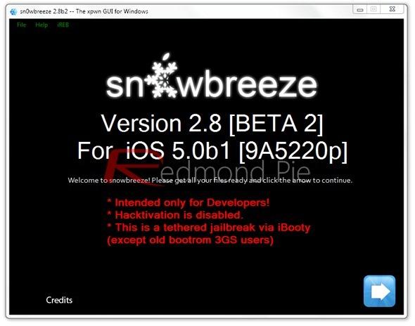 Sn0wbreeze 2.8 beta