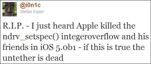 iOS 5 Untethered