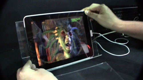 iPad 3D Prototype