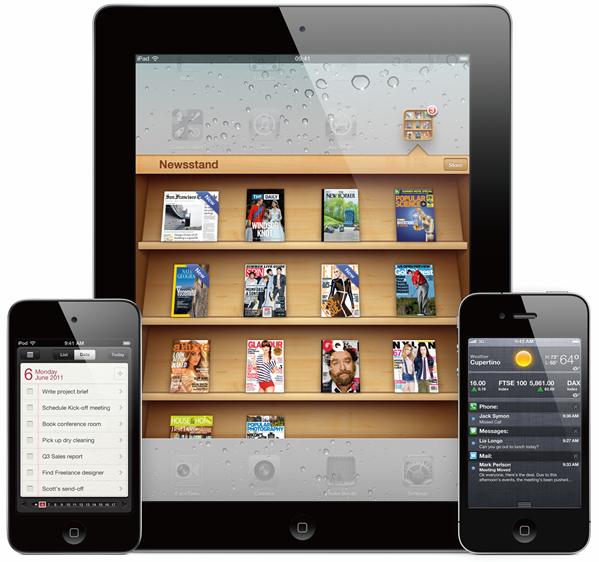 iPadiPhoneiOS5