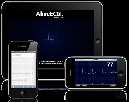 iPhone ECG Monitor