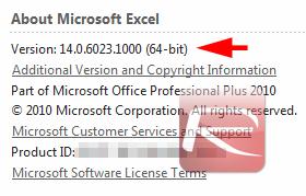 Office SP1 version