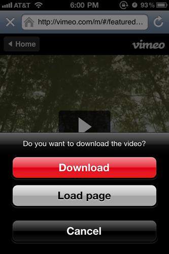 Download Prompt