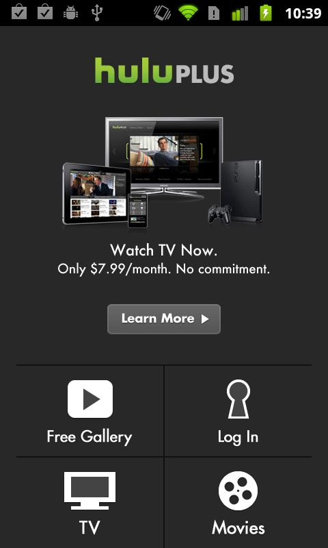 Hulu Plus Begins Android Rollout - For Select Devices   Redmond Pie