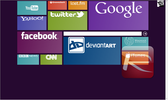 Win8Menu: Windows 8 Tile-Based Theme For Windows 7  Download Now