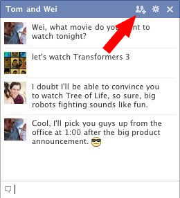 Multi-Person Chat On Facebook