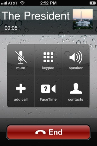 how to make facetime audio call
