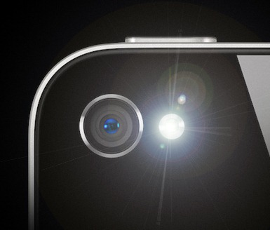 led flash on iphone flashenhancer uses your iphone s led flash for blackberry 15608