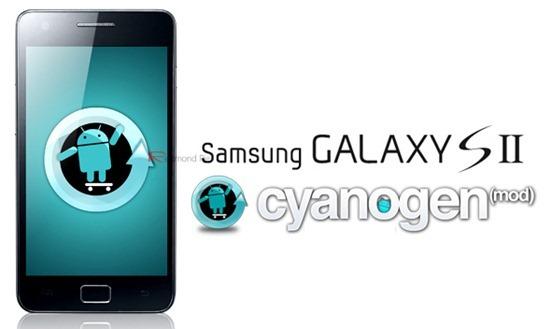 Galaxy S II CyanogenMod WM