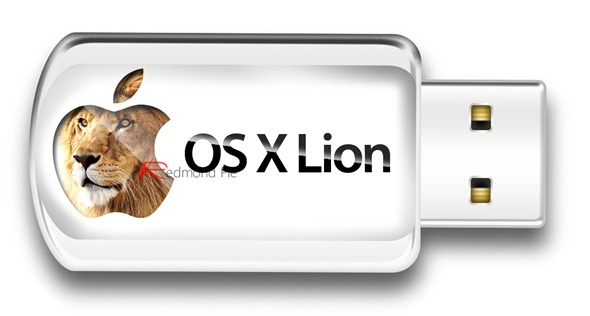 Mac OS X Lion USB