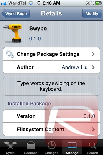 Swype for iPhone