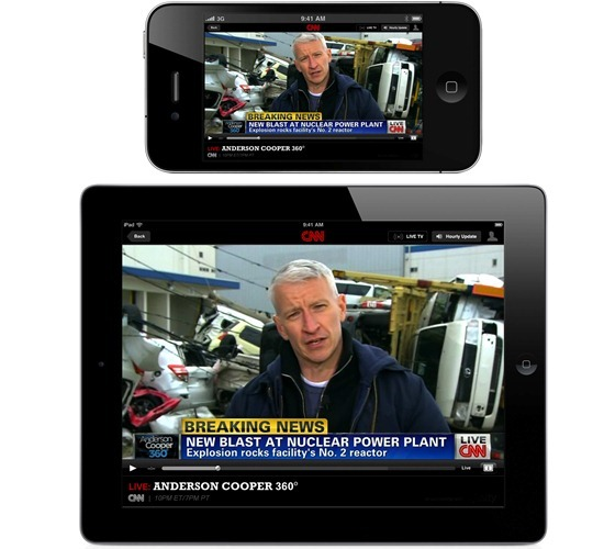 cnn ipad iphone