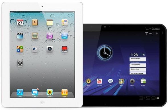 iPad 2 Motorola Xoom