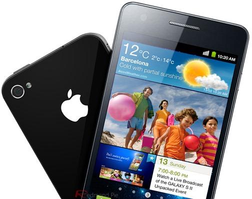 iPhone Galaxy S II