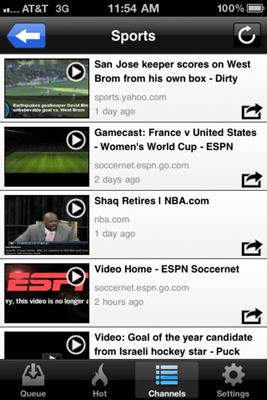 VideoQ Channels