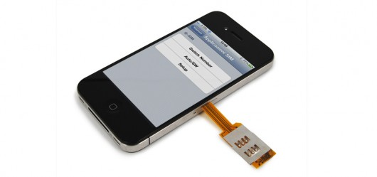 iphone 4 sim card slot how to use two sim cards simultaneously on your iphone 4 5609