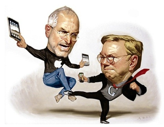 Eric-Schmidt_Steve-Jobs_Kung-Fu