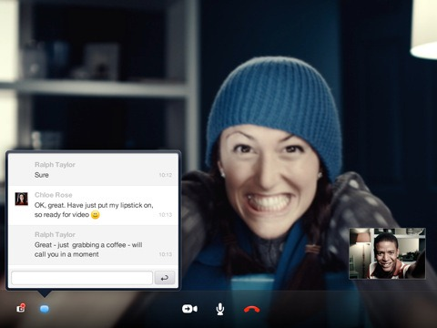Skype for iPad (1)