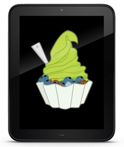 Android HP TouchPad System Dumped