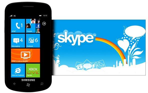 WP7 Skype