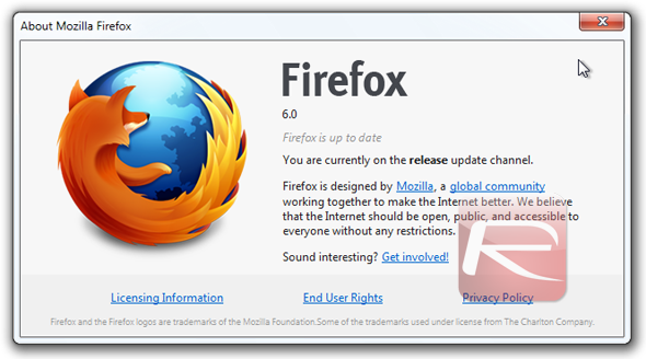 About Firefox 6