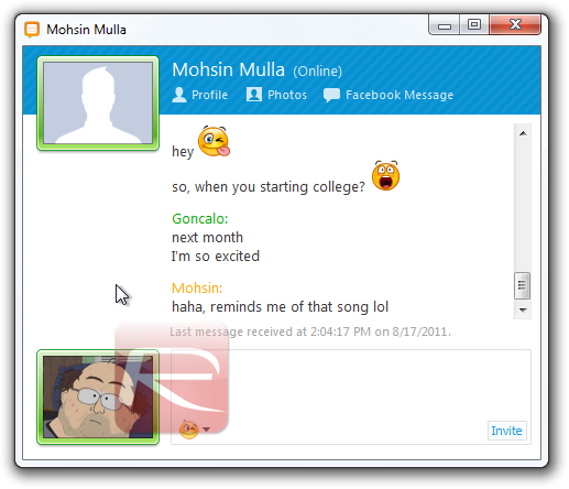 fTalk - chatf