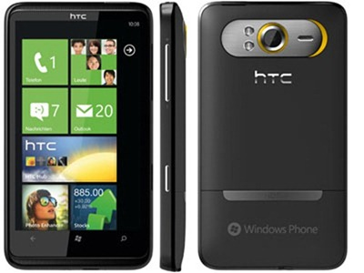 application pour htc hd7 t9292