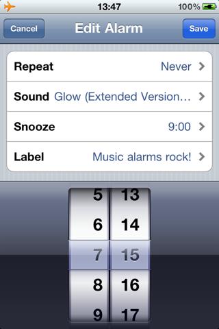 iOS Clock