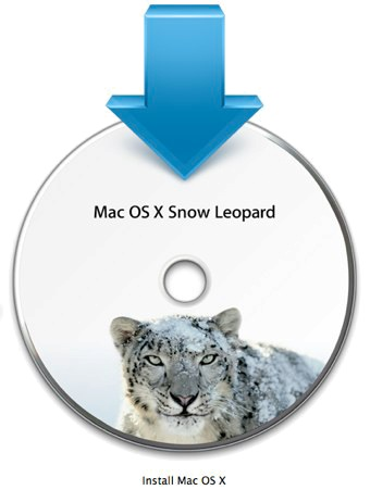 Snow Leopard DVD