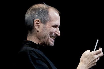 Steve Jobs Smiling