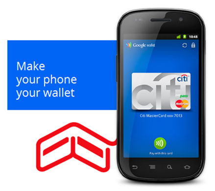 Google Wallet Nexus S 4G