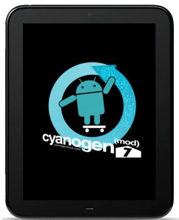 HP TouchPad CyanogenMod 7