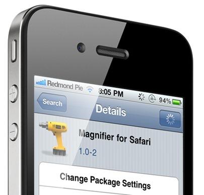 Magnifier For Safari