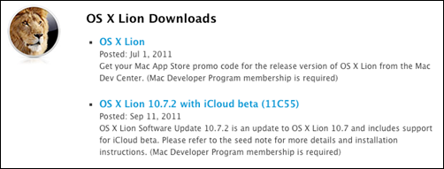OS X Lion 11C55