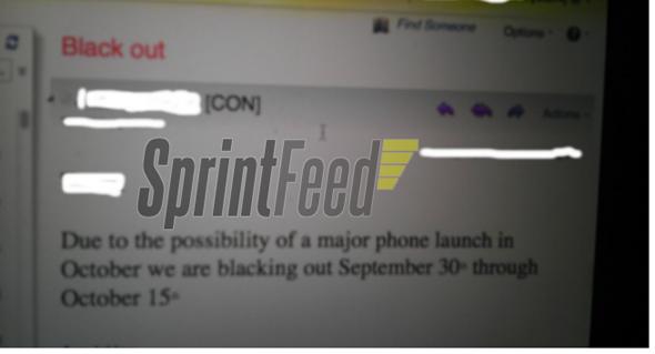 Sprint Memo
