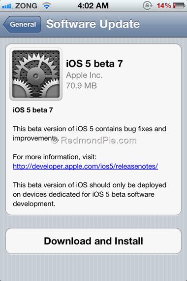 iOS 5 Beta 7 (2)