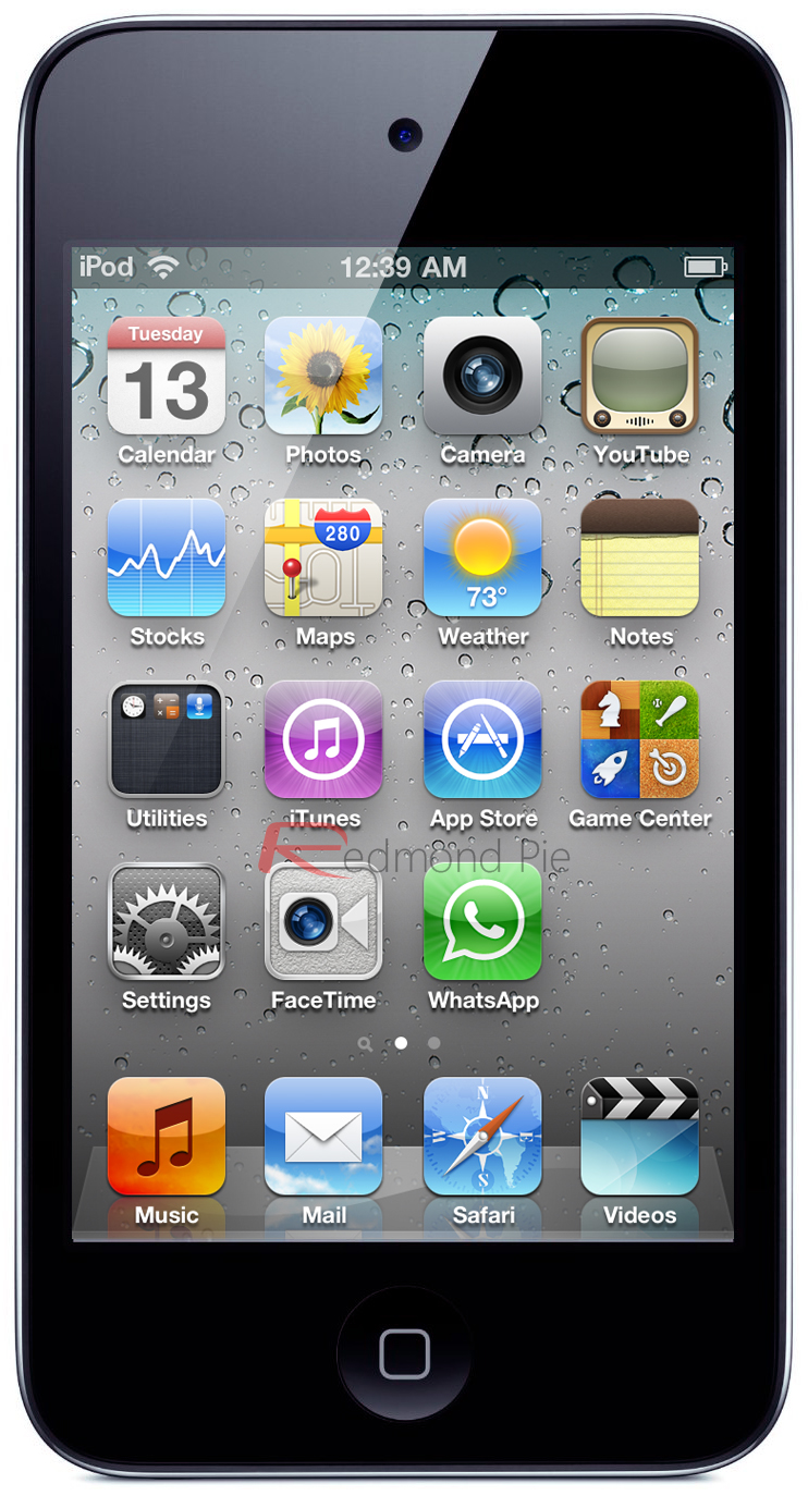 iPod touch WhatsApp Main