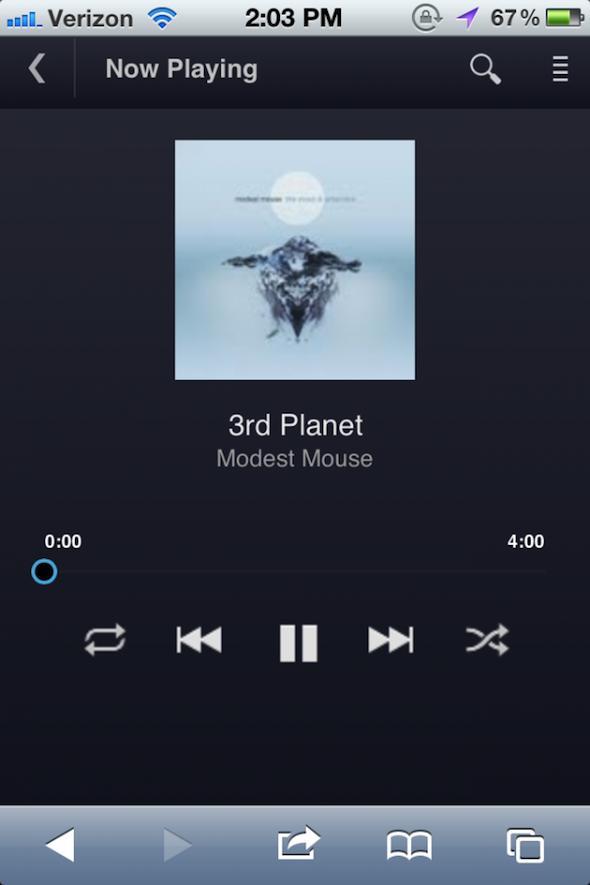 Google Music iOS