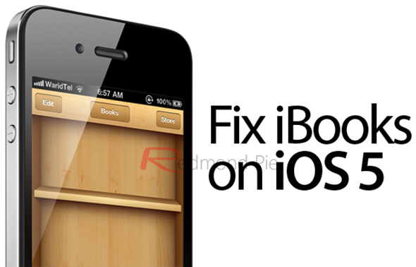 Fix iBooks on iOS 5