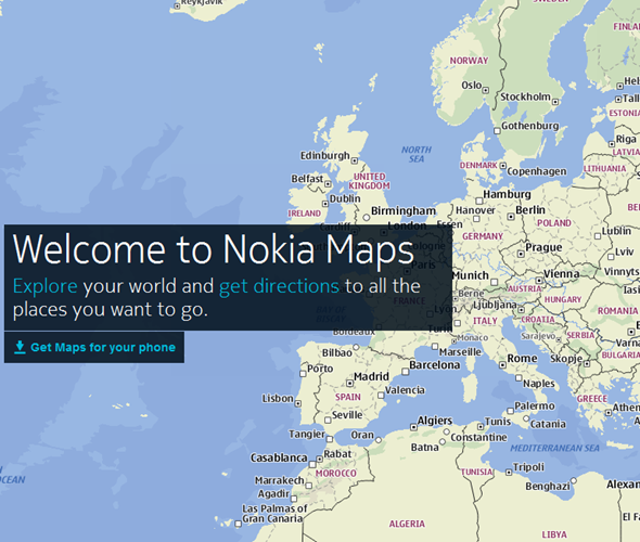 Nokia maps for iphone and android now available supports offline nokia maps gumiabroncs Gallery