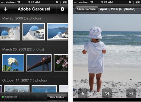 Screenshots Carousel