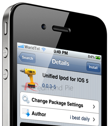 Unified iPod for iOS 5