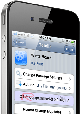 WinterBoard for iOS 5